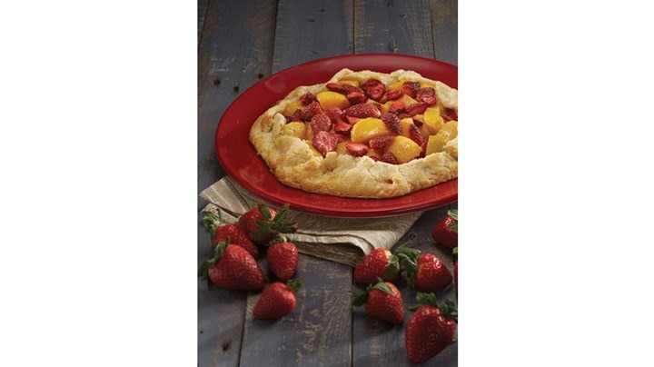 Country-Style Fruit Tart